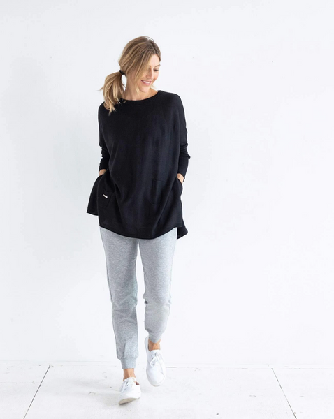 The Catalina Sweater - Black