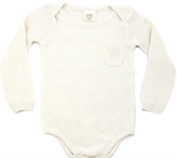 Organic Cotton Knit Bodysuit
