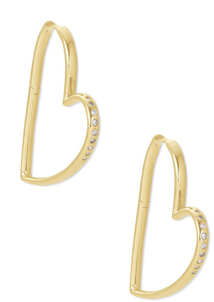 Ansley Large Hoop Earring - Gold