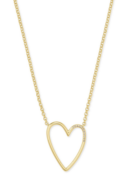 Ansley Pendant Necklace - Gold