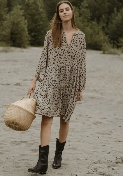Malad Leopard Print Dress