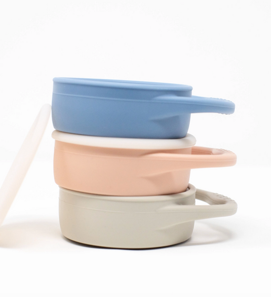 Collapsible Snack Cup - Dusty Pink