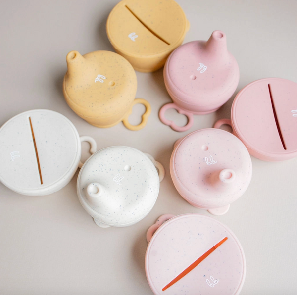 Snack & Sippy Lid Set - Taupe