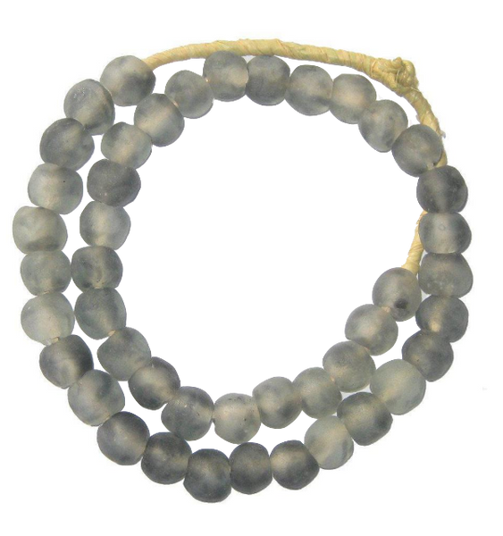Grey Mist Glass Beads - Macy Carlisle