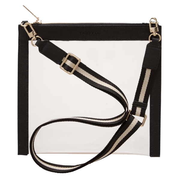 CLARITY CROSSBODY - BLACK - Macy Carlisle