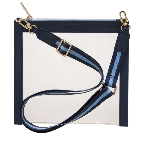 CLARITY CROSSBODY - NAVY - Macy Carlisle