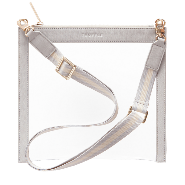 CLARITY CROSSBODY - DOVE GREY - Macy Carlisle