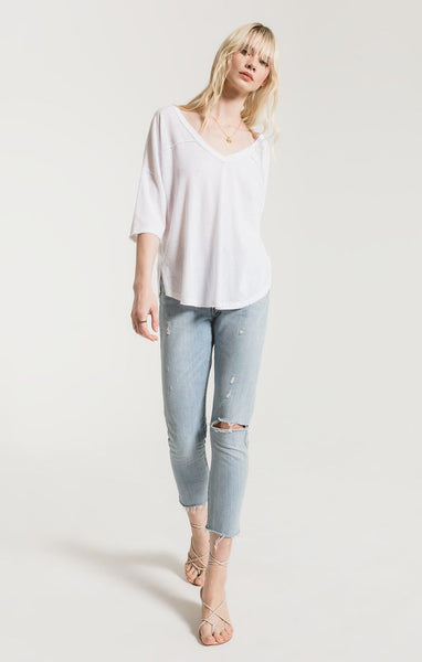 The Triblend Sporty Tee - Macy Carlisle