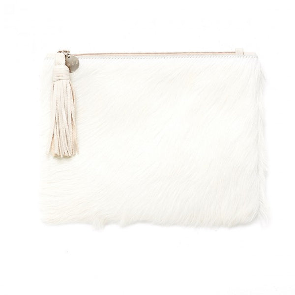 Jem Cream Clutch - Macy Carlisle