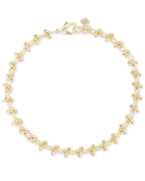 Presleigh Choker Necklace - Gold