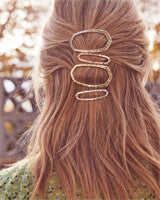 Zorte Hair Clip - Rose Gold
