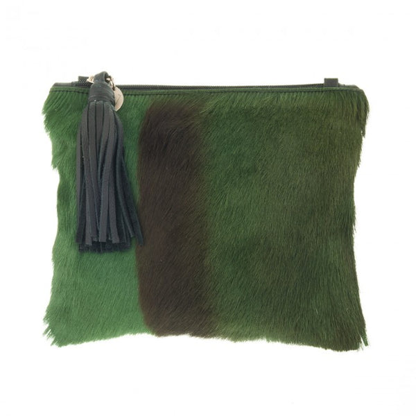 Mickey Forest Green Bok Clutch