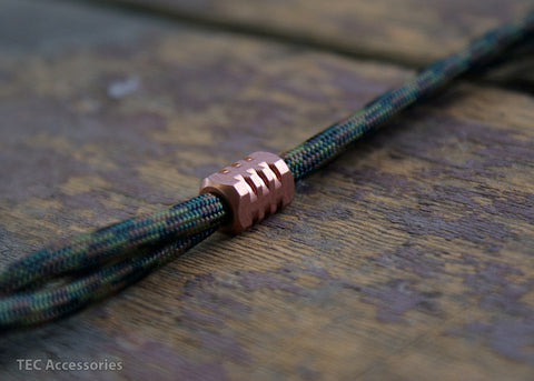 Copper S1 Lanyard Bead