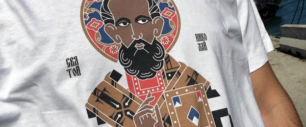 tuttiSanti celebrates Saint Nicholas with a t-shirt
