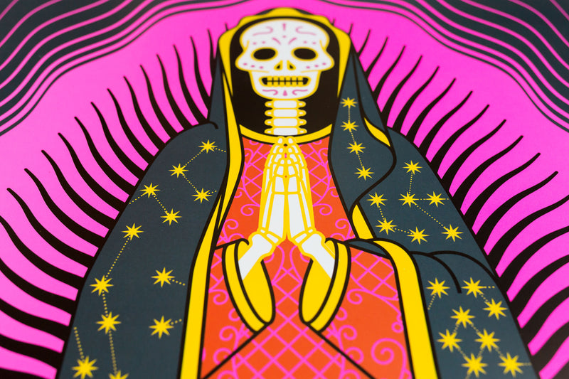 tuttiSanti - poster - Nuestra Señora de Guadalupe - head - shop design contemporary art prints