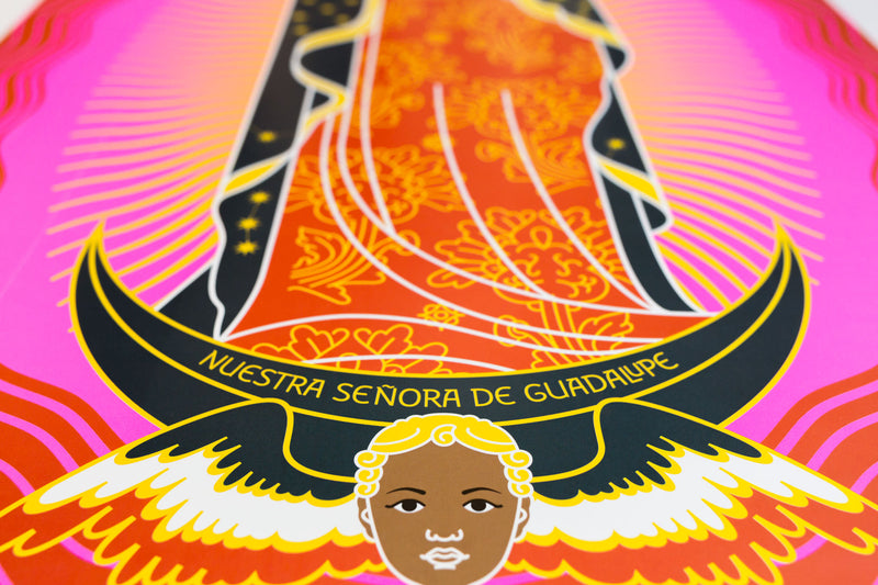 tuttiSanti - poster - Nuestra Señora de Guadalupe - bottom - shop design contemporary art prints