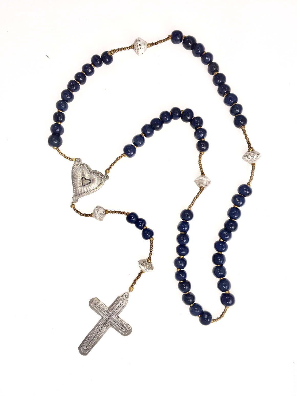 Rosary Inspired Necklace