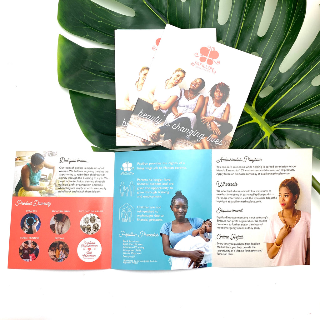 Trifold Brochure- Perfect for giving with your gift!