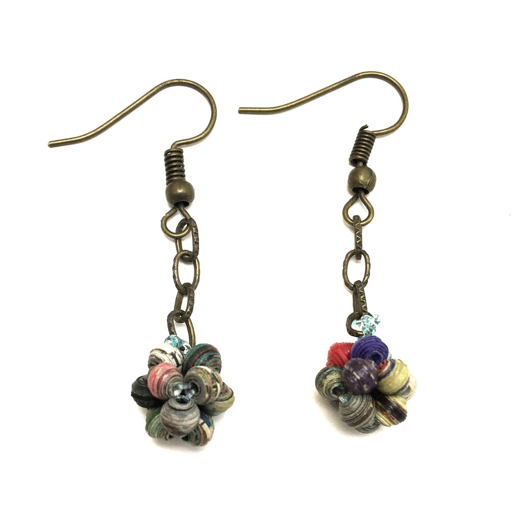 Microbead Ball Earrings