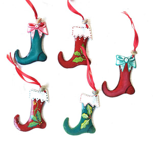 Stocking Ornaments (Set of 5)