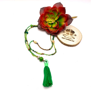 Calliope Tassel Necklace