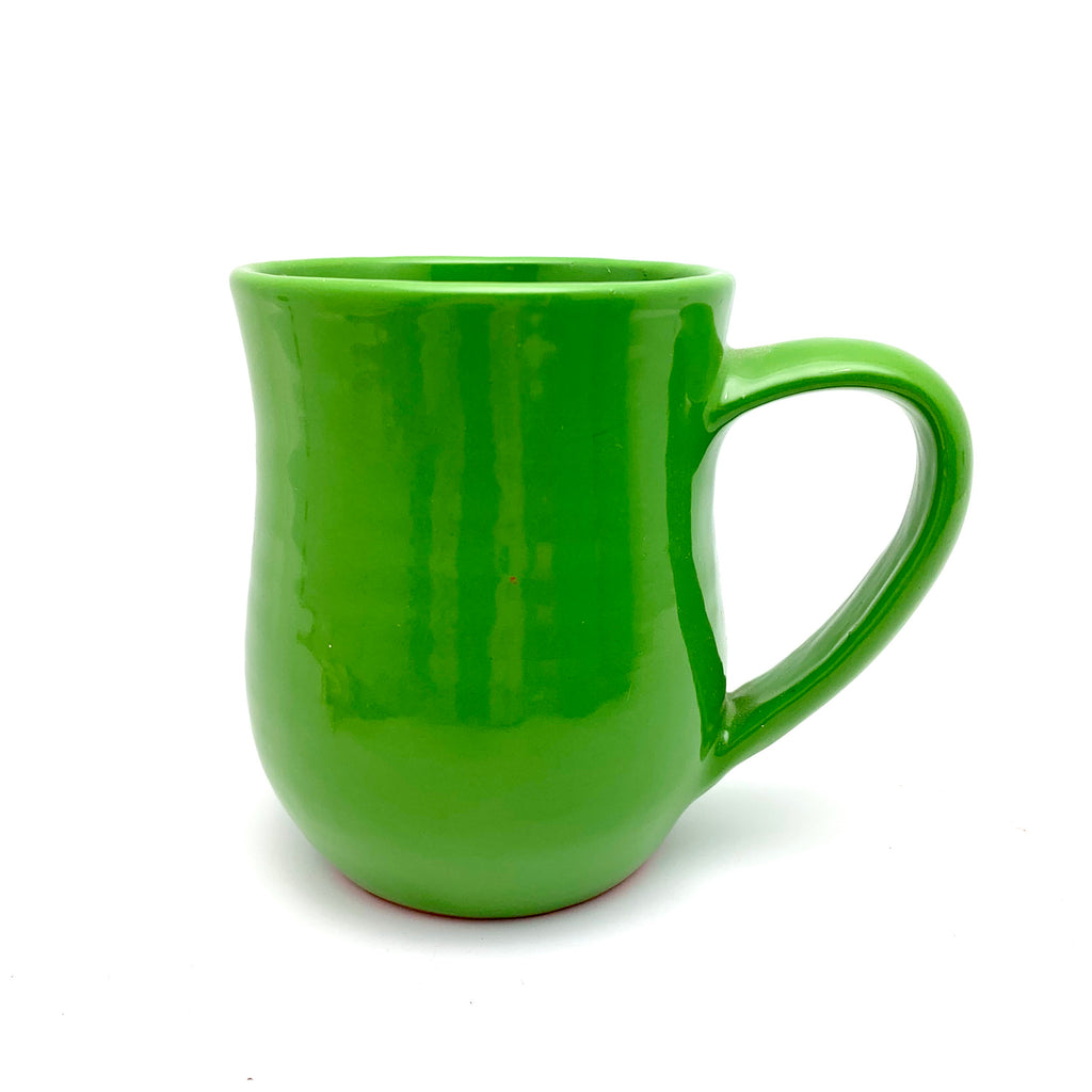 Handmade Mug - Irish Green