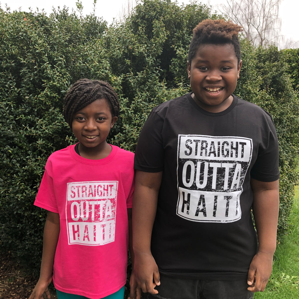 "Youth ""Straight Outta Haiti"" Shirts"