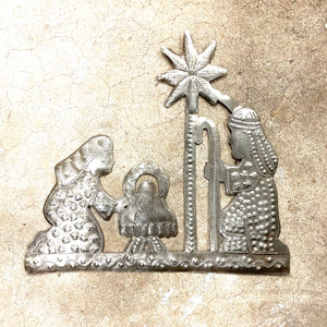 Simple Nativity Wall Hanging