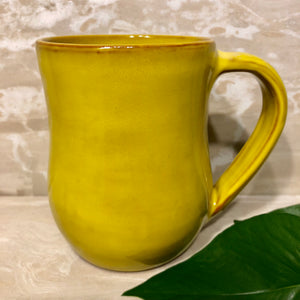 Handmade Mug - Yellow