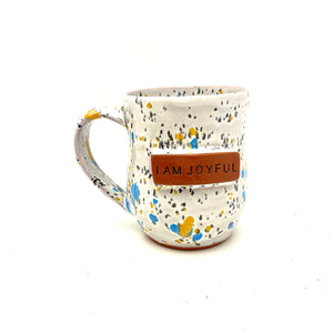 I am Joyful Mug - Funfetti