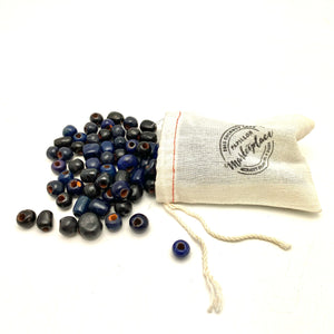 Assorted Navy/ Black Beads