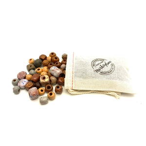 Assorted Pebble Beach Beads