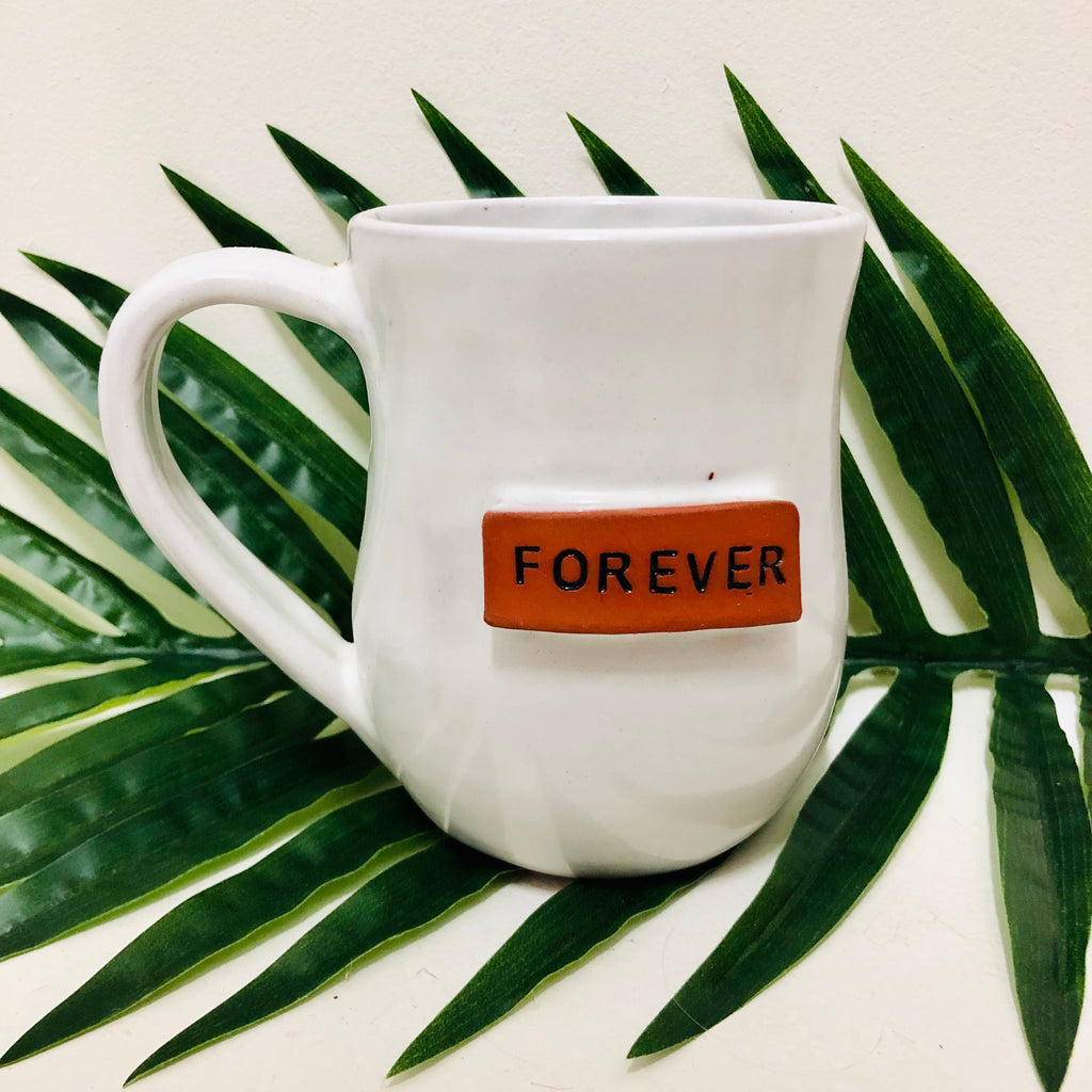 The Forever Mug- Bright White