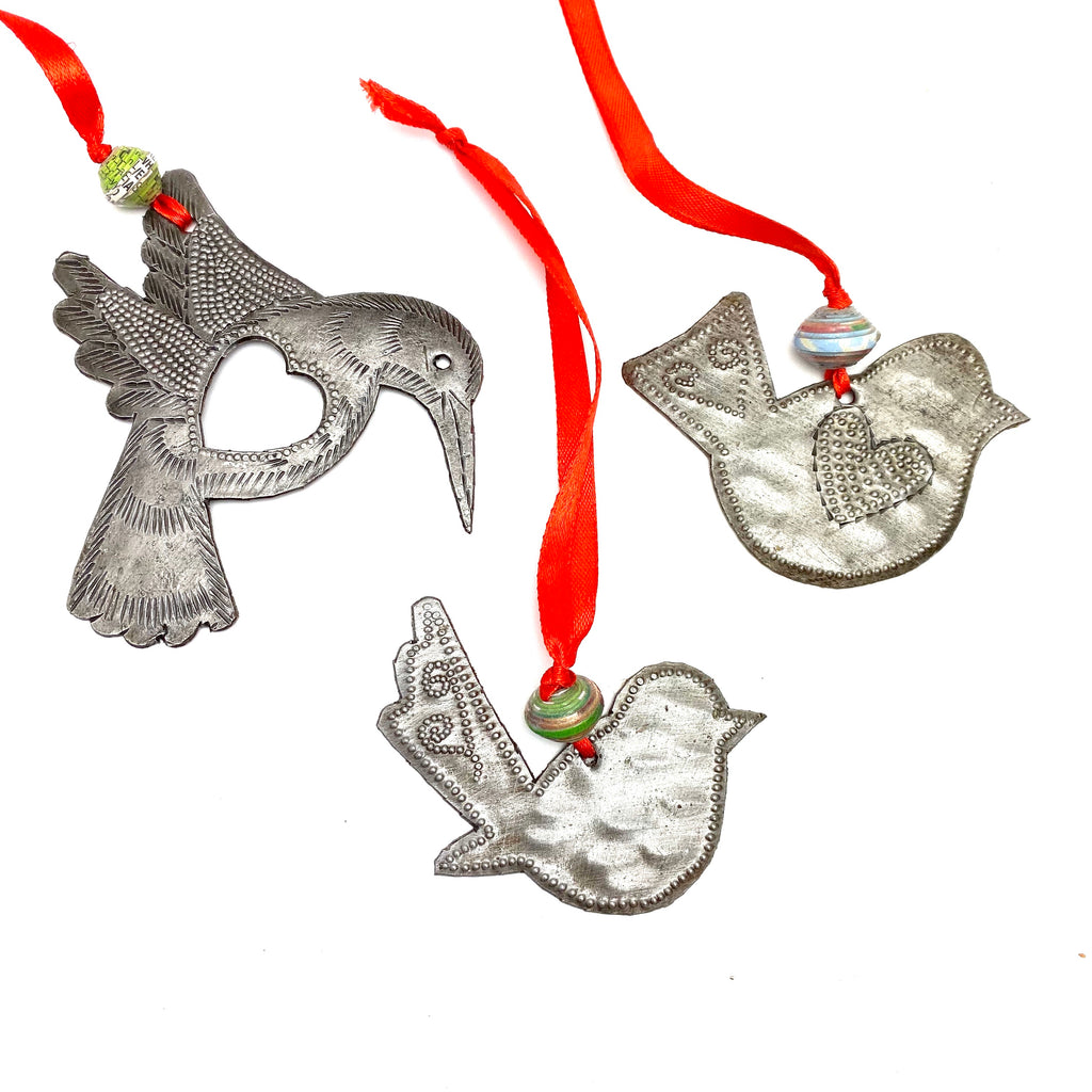 Bird Lover Ornament Set