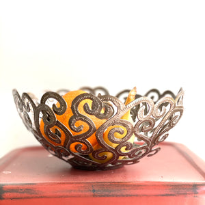 Steel Whimsical Bowl