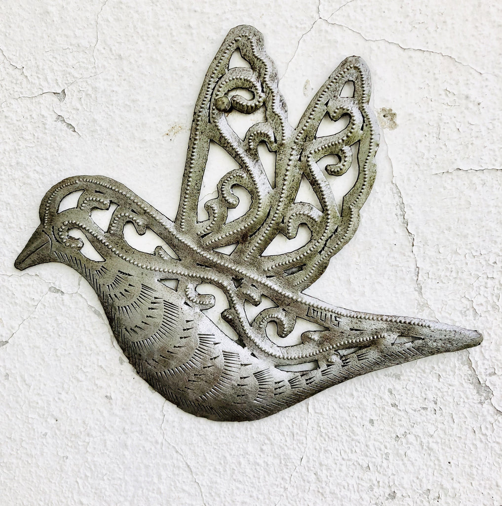 Small Metal Bird