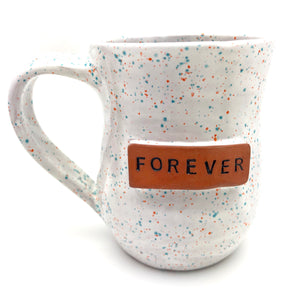 The Forever Mug - Speckled White