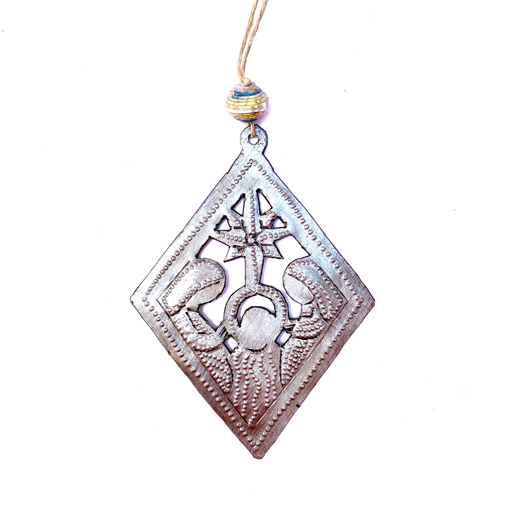 Diamond Nativity Ornament