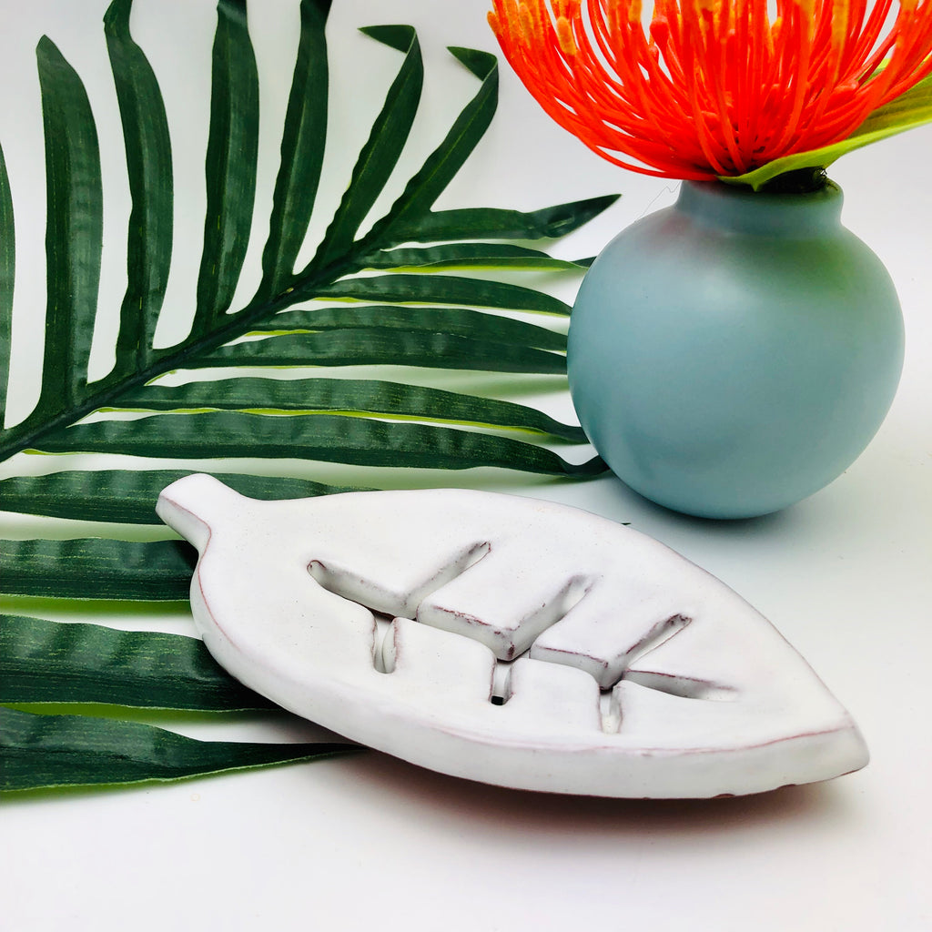 New! Leaf Shaped Soap Dish