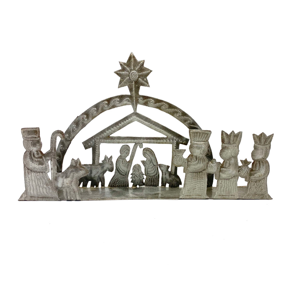 New! 3-D Nativity
