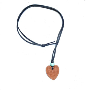 Heart Aromatherapy Necklace