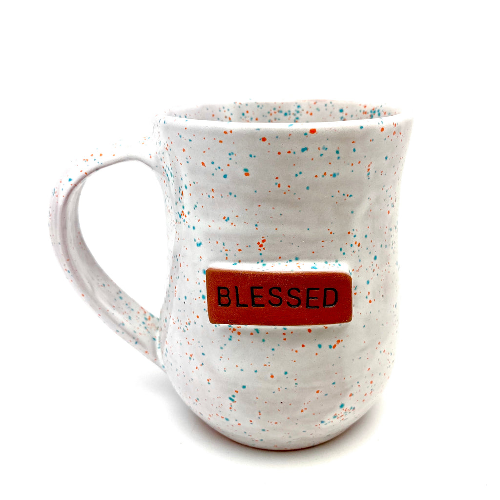 Blessed Mug - White Sprinkles