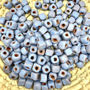 Square Periwinkle Beads