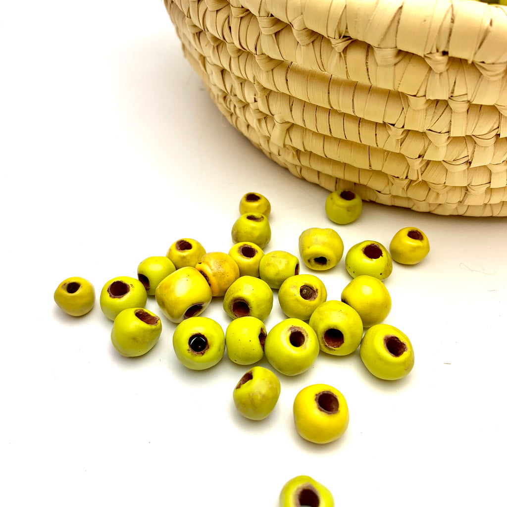 Bright Yellow Beads