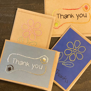 Rosie's Handmade Cards (Set of 4 Assorted)