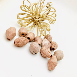 """Let's Go Nuts"" Ceramic Beads"