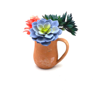 Natural Unglazed Terra Cotta Mug