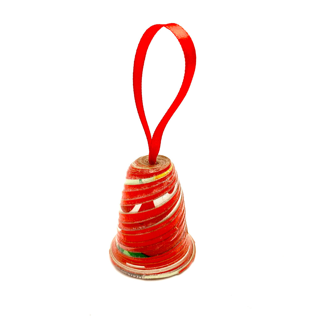 Paper Bell Ornament