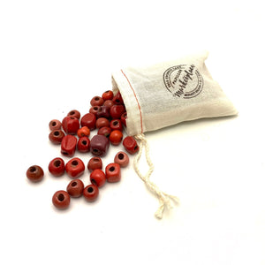 Assorted Red Beads