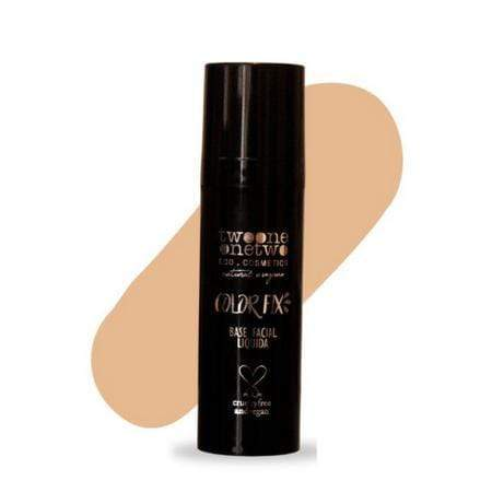 Base Liquida Base Facial Color Fix Twoone Onetwo Cor 3 Sand Beige 30g